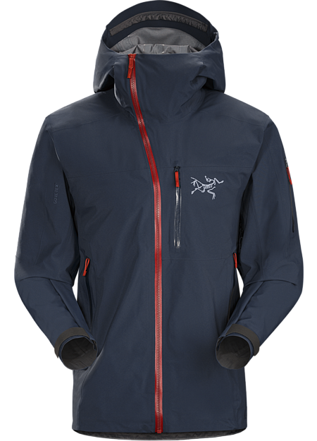 Tough waterproof hardshell. Sidewinder front zipper curves away from your face. Our most durable snowsports specific waterproof shell.