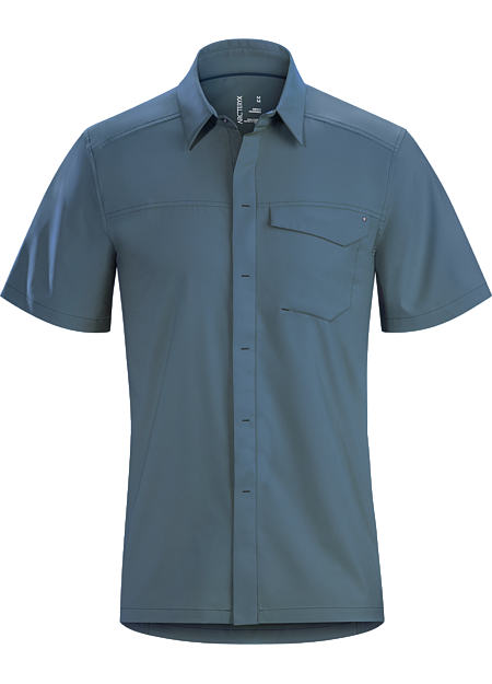 Skyline Shirt SS Men's Heron