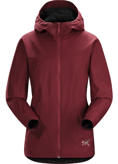 Windproof, water repellant GORE® WINDSTOPPER® jacket with refined urban style.