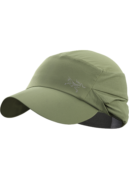 Lightweight Legionnaire style hat with an extra large brim and a stowable back flap for full UPF 50+ sun protection.