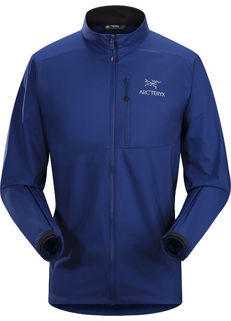 Super lightweight, durable and compressible jacket; Ideal as a wind resistant layer for warm weather activities
