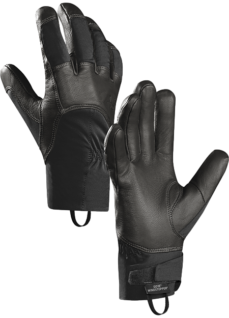 Versatile, lightweight, leather reinforced WINDSTOPPER® softshell gloves with excellent dexterity.