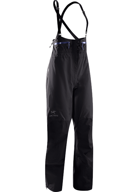 Theta SV Bib Women's High waisted, waterproof and durable GORE-TEX® bib pant, designed specifically for women. Theta Series: All-round mountain apparel with increased coverage | SV: Severe Weather.