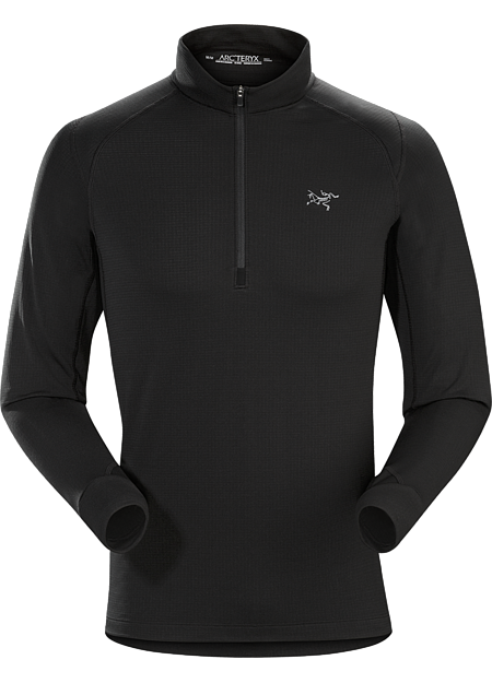 Thetis Zip Neck Men's Polartec® Power Dry® midweight fleece zip neck takes the chill out of cold weather training sessions.