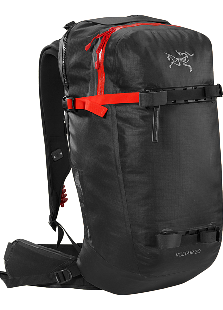 Advanced, powerful 20L backcountry avalanche pack capable of multiple deployments. Battery and charger are sold separately.