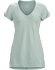 A2B V-Neck Shirt SS Women's Sage