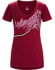 Afterglo V-Neck T-Shirt Women's Scarlet