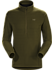 Delta LT Zip Neck Men's Dark Moss