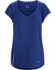 Emory Top SS Women's Mystic