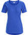 Motus Crew Neck Shirt SS Women's Somerset Blue