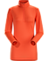 Phase SL Zip Neck LS Women's Orange Julia