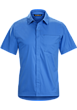 A2B Shirt SS Men's Deja Blue
