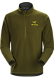 Delta AR Zip Neck Men's Dark Moss