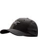 Embroidered Bird Cap  Black