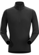 Phase AR Zip Neck LS Men's Black