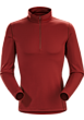 Phase AR Zip Neck LS Men's Pompeii