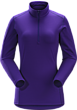 Phase AR Zip Neck LS Women's Azalea
