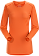 Phase SL Crew LS Women's Orange Julia