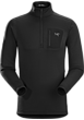 Rho AR Zip Neck Men's Black