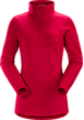 Rho AR Zip Neck Women's Radicchio