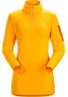 Rho LT Zip Neck Women's Aspen Glow