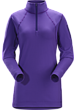 Rho LT Zip Neck Women's Dahlia