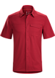 Skyline Shirt SS Men's Volcano
