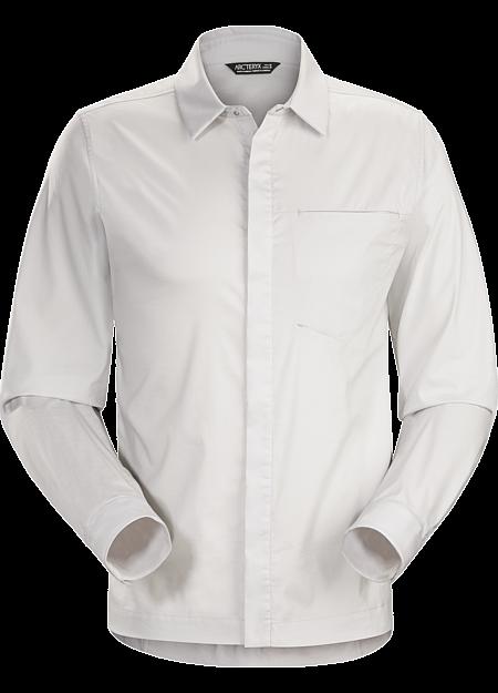 A2B Shirt LS Men's Button down shirt for the urban bike commute.