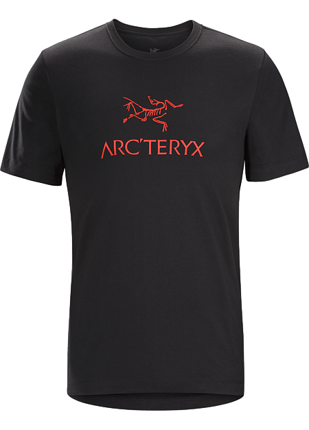 Arc'Word Heavyweight T-Shirt Men's T-shirt with the Arc'teryx logo made with organically grown heavyweight cotton.