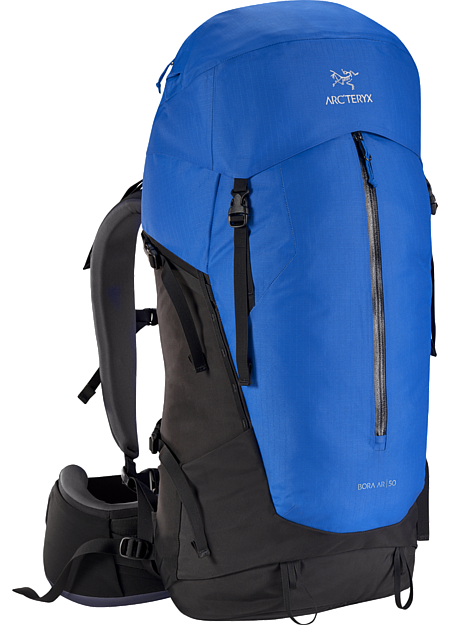 Bora AR 50 Backpack Men's Men's backpack with zonal weather protection and RotoGlide™ hipbelt.
