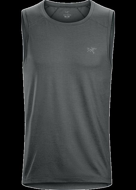 Cormac Sleeveless Shirt Men's Sleeveless technical shirt for hot weather.
