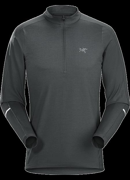 Cormac Zip Neck Shirt LS Men's Lightweight zip neck shirt performs across a range of temperatures.
