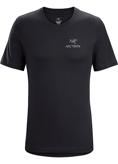 Emblem T-Shirt Men's T-shirt with the Arc'teryx logo made with organically grown cotton.