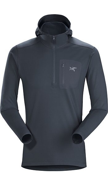 Arc'teryx Rho LT Hooded Zip Neck Men's