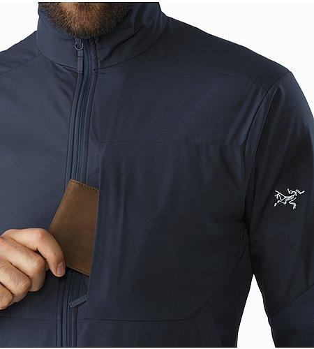 A2B Comp Jacket Nighthawk Chest Pocket
