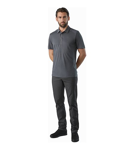 A2B Polo Shirt Janus Front View