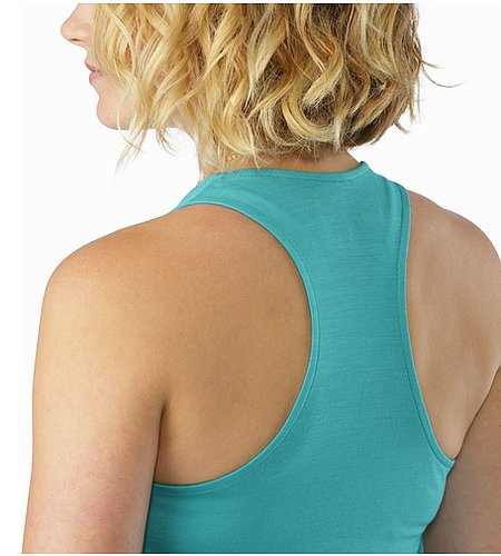 A2B Tank Women's Castaway Back Detail