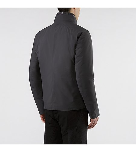 Achrom IS Jacket Soot Back View