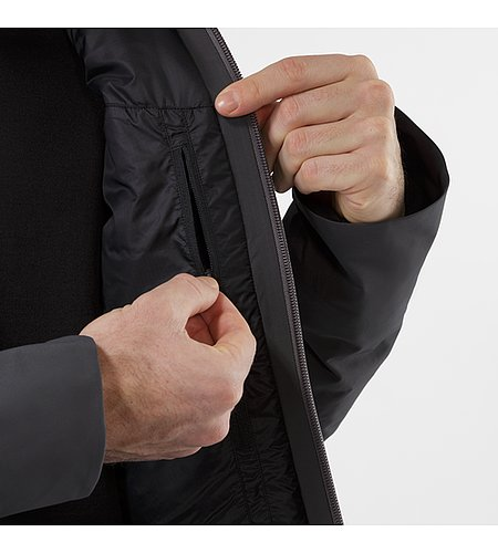 Achrom IS Jacket Soot Internal Wallet Pocket