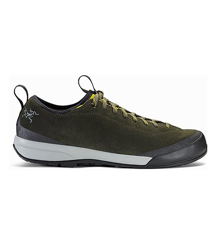 Acrux SL Leather Approach Shoe Deep Iguana Antique Moss Side View