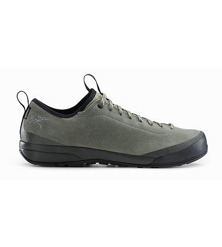 Acrux SL Leather GTX Approach Shoe Women's Castor Grey Shadow Side View