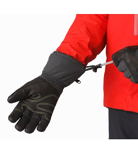 Alpha AR Glove Graphite Wrist Cinch Release