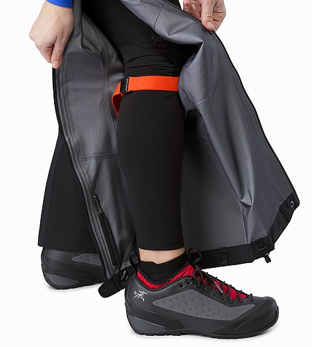 Alpha AR Pant Women's Black Leg Wrap