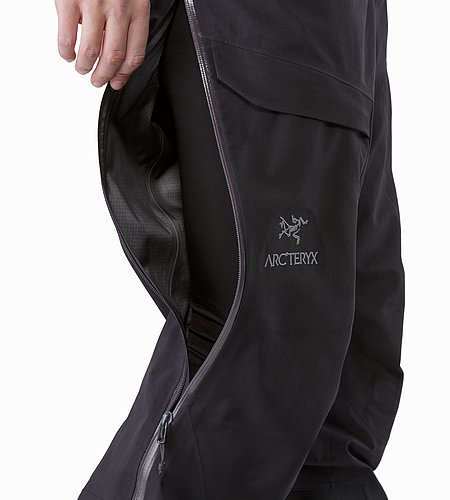 Alpha AR Pant Women's Black Side Zipper