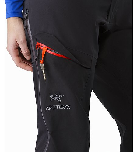 Alpha AR Pant Women's Black Thigh Pocket