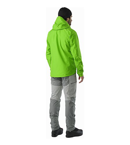 Alpha FL Jacket Rohdei Back View
