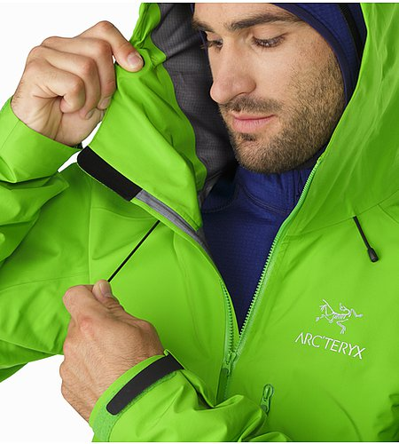 Alpha FL Jacket Rohdei Hood Adjuster