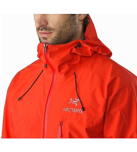 Alpha SL Jacket Magma Collar