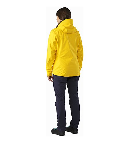 Alpha SL Jacket Women's Golden Poppy Rückansicht