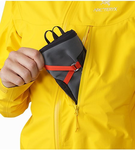 Alpha SL Jacket Women's Golden Poppy Brusttasche